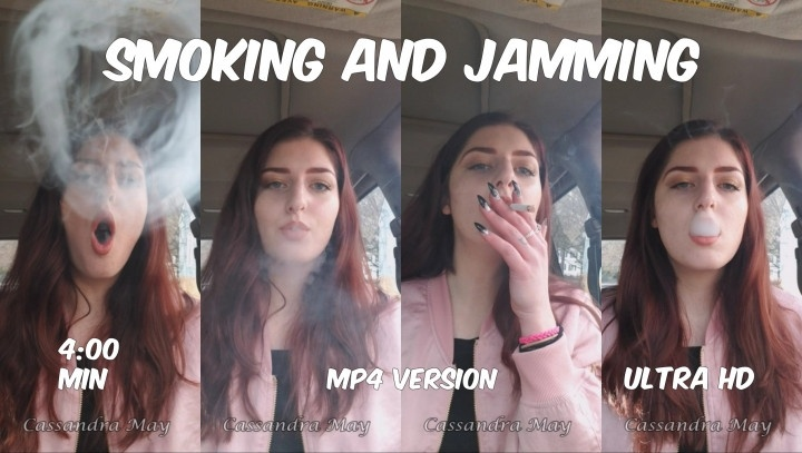Cassandramayy Smoking And Jamming