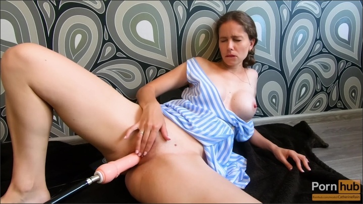 [] Squirt Fountain While The Fucking Machine In Me Catherinerain - CatherineRain - - 00:13:00 | Milf Solo, Female Orgasm, Masturbation Orgasm - 406,6 MB
