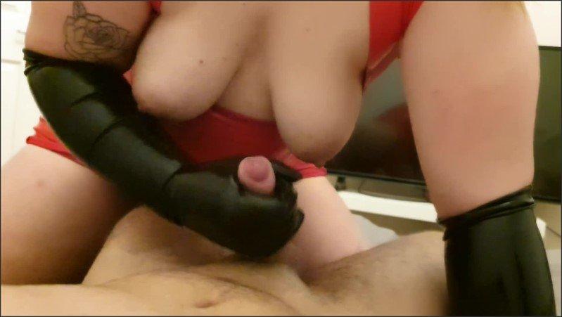 [Full HD] Latex Gloves And Dress Femdom Bondage Handjob - ChrisAndJade - -00:10:50 | Latex Dress, Handjob, Pov Handjob - 269,5 MB