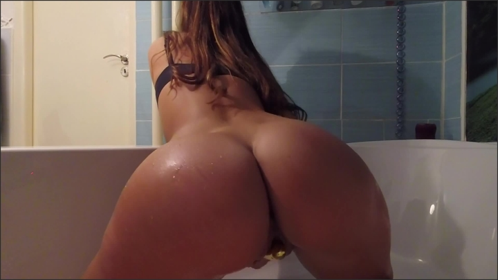 Girl Caught On Camera Masturbating In Bathroom