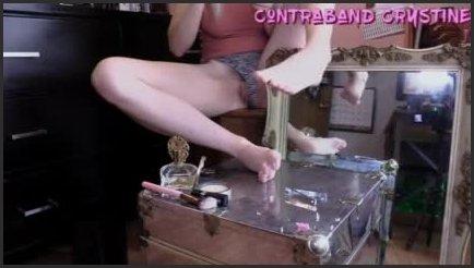 [LQ] Toe Nail Care Polish Change Foot Massage - Contraband Crystine - - 00:13:32 | Solo Female, Amateur, Foot Massage - 38,9 MB