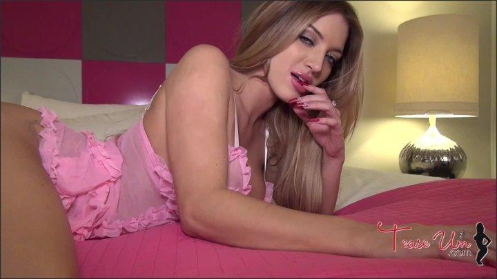 Pretty In Pink Bedroom Eyes Strip Tease