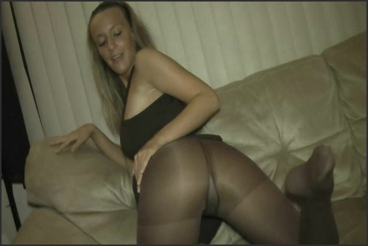 Curious Cristine  Pantyhose Perfection For Pervert
