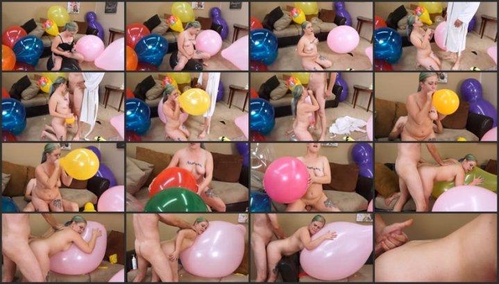 Balloon porn