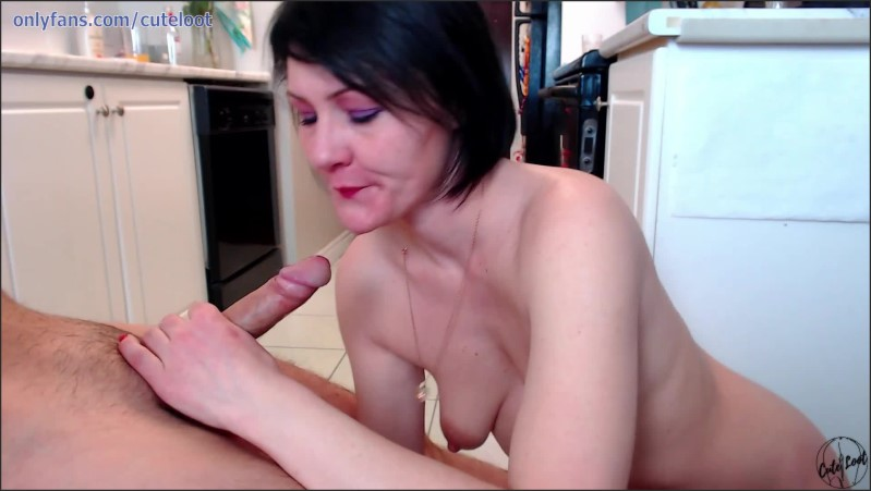 [Full HD] Babe Gives Very Sloppy Bj Gets Huge Load Of Cum On Her Face  - CuteLoot - -00:08:08 | Step Fantasy, Sloppy Blowjob, Blowjob - 170,8 MB
