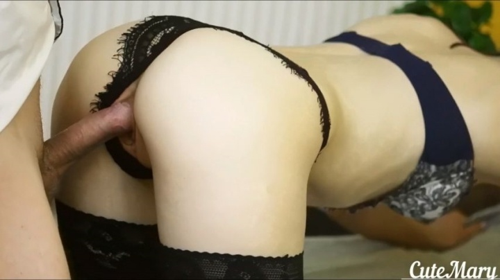 Cutemary Fuck In Sexy Lingerie At Hotel Room