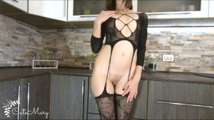 Cutemary Hot Petite Stepmom Gets Creampied