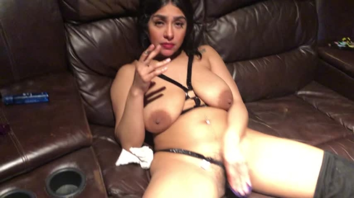 Daddy Slave Stuffing My Pussy 9Inch Cock