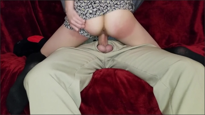 [Full HD] Sexy Step Daughter Rides Dad S Knee And Then His Dick Extended Cut - DaddyandKittenn - - 00:12:30 | Close Up, Step, Dad - 282,9 MB