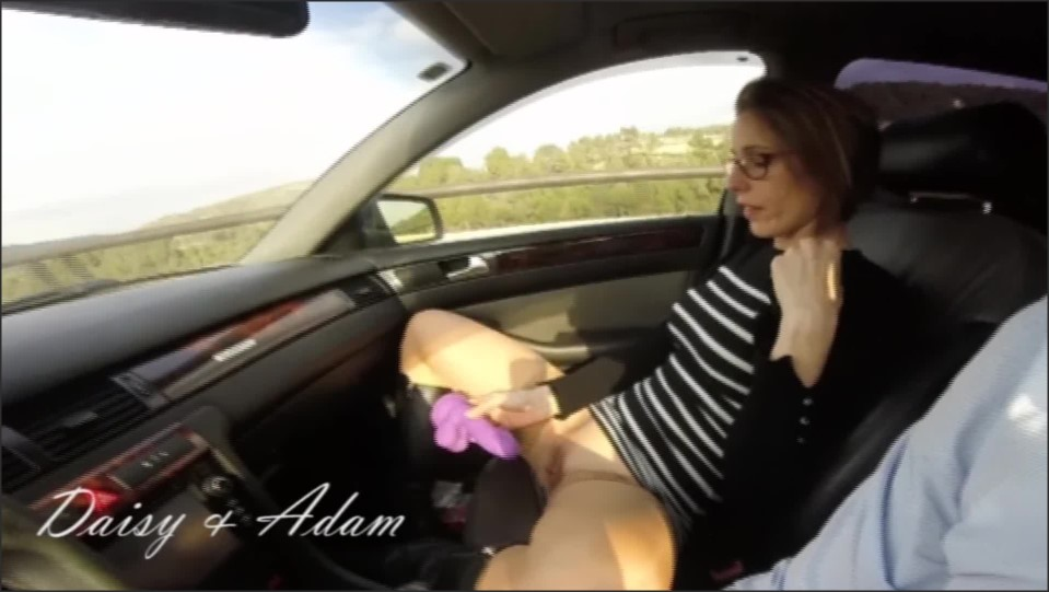 [Full HD] Can T Wait To Arrive And Masturbates In The Car  - DaisyAdam - -00:23:12 | Reality, Stockings - 515,1 MB
