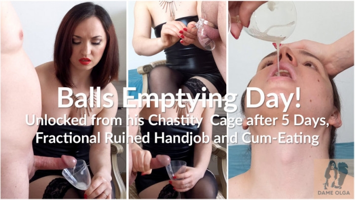 Dame Olga Balls Emptying Day