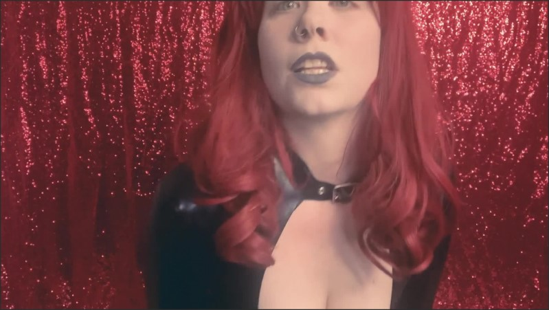 [Full HD] Latex Goddess Owns Your Cock But Will She Let You Jerk Today Catsuit Redhead  - Deanna Deadly - -00:07:59 | Shiny Latex, Solo Female - 250,7 MB