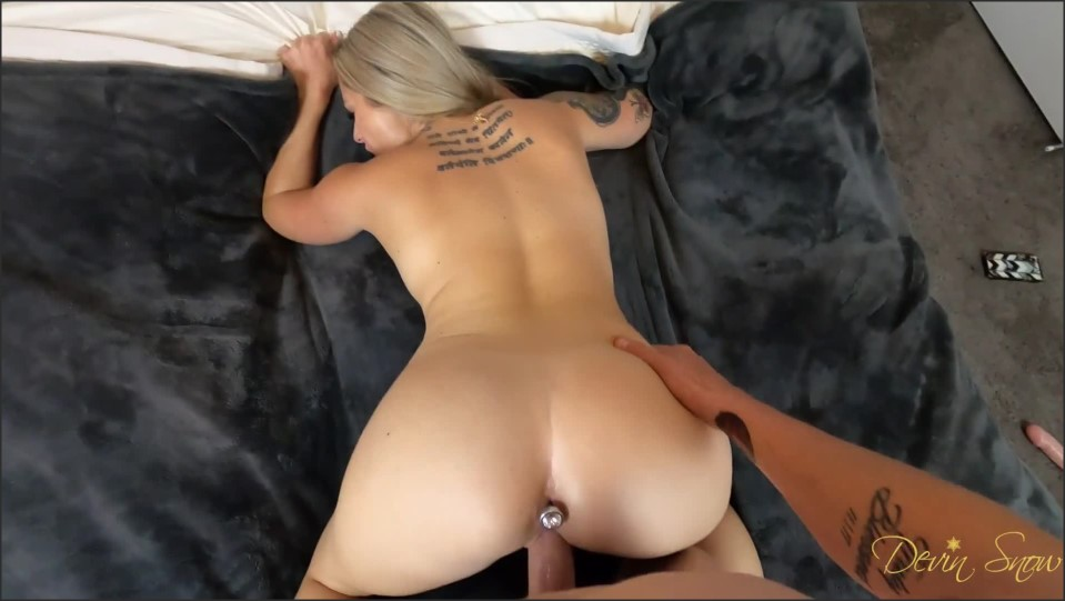 [Full HD] Busty Devin Fucks Doggy For A Deep Creampie  - Devin Snow - -00:06:57 | Missionary, Big Tits, Amateur - 171 MB