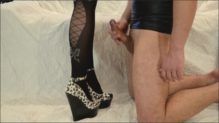 [Full HD] Dirty Lady My Slave Masturbates To Elegant Legs In Shoes And Cums Up In Heels - Dirty Lady -  - 00:05:18   High Heels, Cum On Heels, Feet - 81,8 MB
