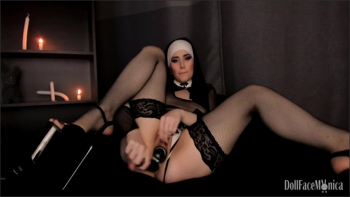 [Full HD] Sinful Nun Denies Her Lowly Cunt And Becomes A Rightful Cock Worshipper - DollFaceMonica - - 00:11:47 | Submissive Teen, Cute, Masturbation - 458,4 MB
