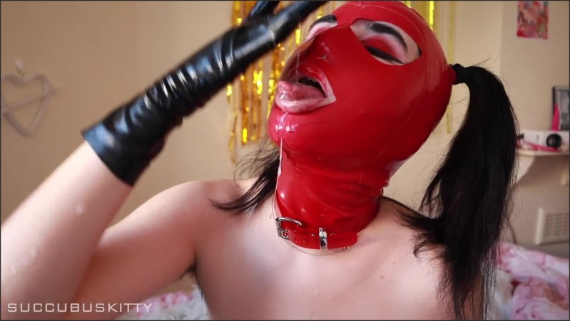 [Full HD] Spit Play With Latex Gloves Hood  - DominatrixVera - -00:06:40 | Verified Amateurs, Close Up - 148,9 MB