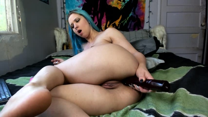 Easygoing Huge Anal Toy