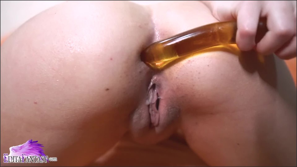 [Full HD] Sexy Pervert Oiling Tits And Anal Masturbate Sex Toys Female Orgasm  - Edita Fantasy - -00:08:12 | Cute, Fingering - 167,9 MB