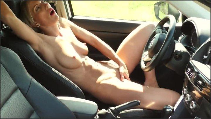 Miss Elen Masturbation In The Car Hd