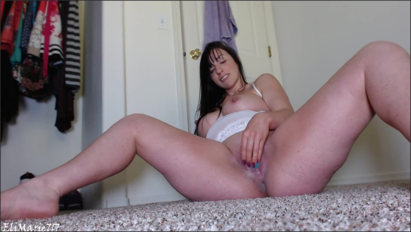 [Full HD] Wet In White Creamy Dildo Fun Hd - EliMarie717 - -00:09:13 | Long Hair, Adult Toys - 174,8 MB
