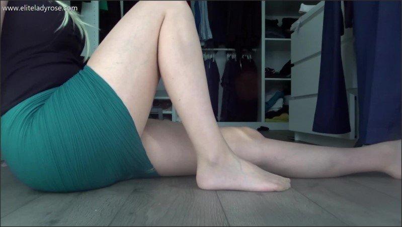 [Full HD] Adore My Pantyhose - Eliteladyrose - -00:10:06 | Footfetish, Pantyhose, Panty Sniffing - 238,5 MB