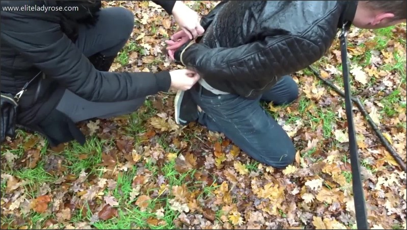 [Full HD] Dutch Humiliation In The Woods - Eliteladyrose - -00:10:10 | Public Humiliation, Public, Double Domination - 889,9 MB