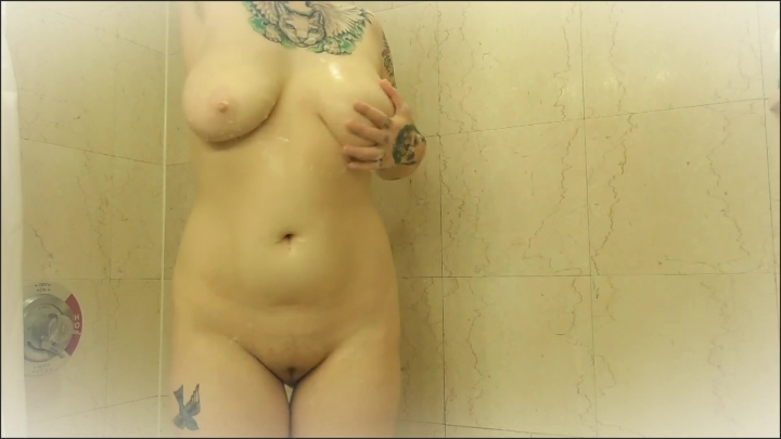 [Full HD] Sensual Sexy Shower Fantasy - Elle Hell - - 00:06:44 | Shower, Cock Tease - 104 MB