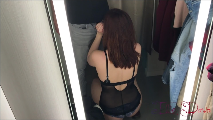 [Full HD] My Teen Girlfriend Thanks Me With A Risky Blowjob In The Dressing Room Cim - Ellie Dawn - - 00:06:20 | Verified Amateurs, Big Dick - 312,8 MB