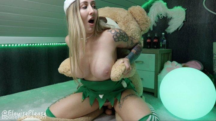Elouise Please Naughty Elf Teddy Bear Fuck