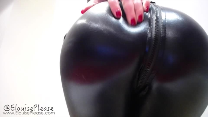 Elouise Please Tight Pvc Booty Worship