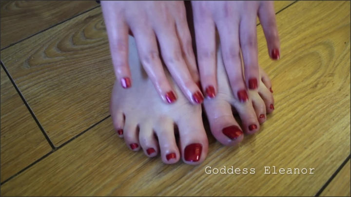 [Full HD] Red Toes Heels And Oil Pov Joi Goddess Eleanor - Embrace The Kink - - 00:08:53   Verified Amateurs, Babe - 412,8 MB