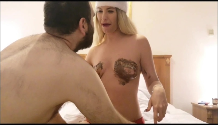 [Full HD] Boobs Cleaning Slave This Xmas - EroticTanya - - 00:10:04 | Tit Worship, Point Of View, Babe - 135,3 MB