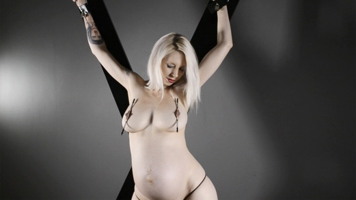 [SD] Eroticababes Ashleigh Doll Pregnant And Expectant  - EroticaBabes - ManyVids - 00:07:35   Bondage Restraints, Nipple Play, Big Tits - 91,9 MB