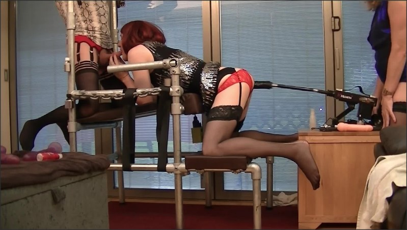 [Full HD] Sissy Lucy In Chastity With The Fucking Machine  - Essex_Girl_Lisa - -00:12:22 | Red Head, Verified Amateurs - 341,9 MB