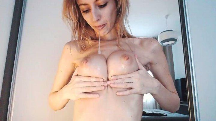 [SD] Evasasha Spitting All Over My Body Intense Orgasm - EvaSasha - ManyVids - 00:09:57 | Tall Women, Skinny Women, Big Boobs - 99 MB