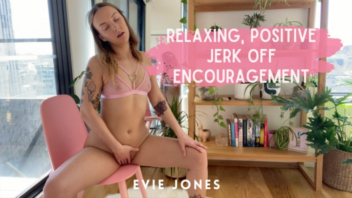 [4K Ultra HD] Evie Jones 4K Positive Relaxing Joe Joi Evie Jones - ManyVids-00:13:20 | Masturbation Encouragement, Small Tits, Mesmerize - 2,7 GB