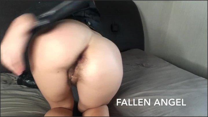 [HD] Fallen Angel Horny Teen Eagerly Fucks Her Hairy Ass With Huge Bbc  - FALLEN ANGEL -  - 00:06:29 | Slut, Anal - 71,4 MB
