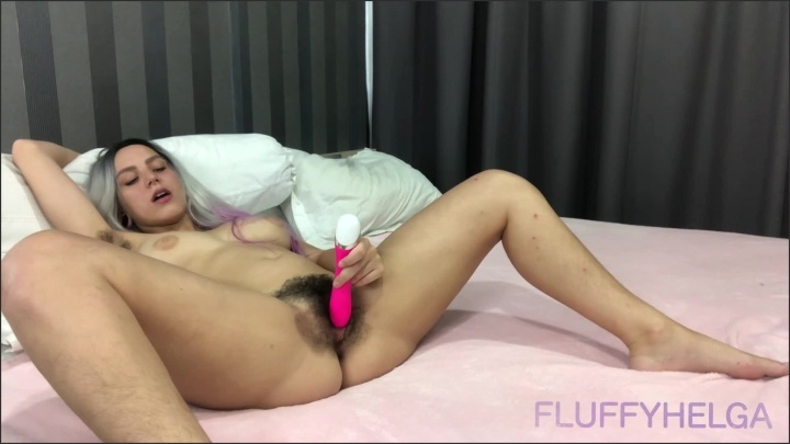 [Full HD] Fluffyhelga In Wig Sucks And Rides Dildo Real Orgasm With Vibrator Full Ver 10.06 2020 - FluffyHelga - - 00:14:48 | Verified Amateurs, Dildo Fuck, Hairy Pussy - 301,5 MB