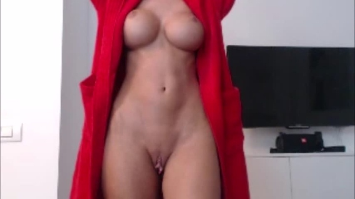 Franf Red Robe Tease