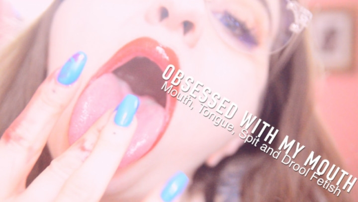 [HD] Freshie Juice Obsessed With My Mouth Spit And Drool - Freshie Juice - ManyVids - 00:06:31 | Lipstick Fetish, Femdom, Mouth Fetish - 594,3 MB