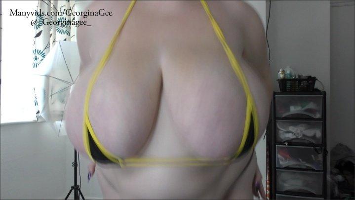 [4K Ultra HD] Georginagee Bouncing Boobs - GeorginaGee - ManyVids - 00:07:44 | Size - 1,6 GB