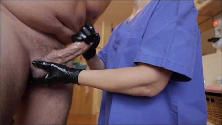 [Full HD] Nurse Gives Me A Handjob - German Sex - - 00:06:13 | Handjob, Gloves, Fake Hospital - 99,8 MB