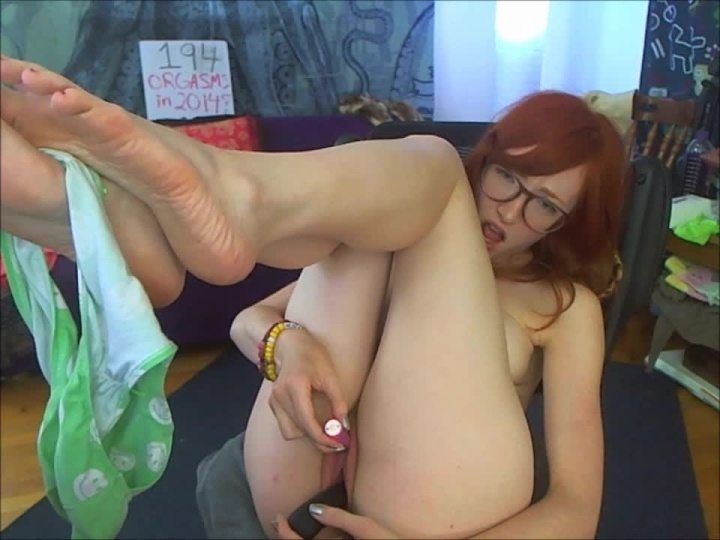 Gingerann Panty Play And Cum