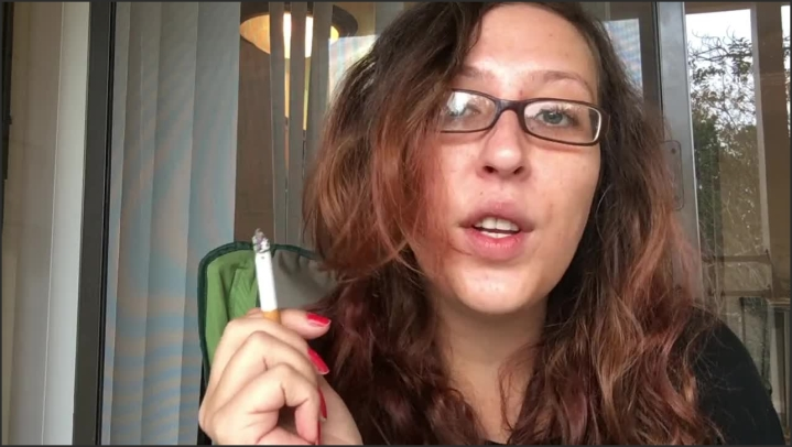 [HD] Horny Brunette Babe Smoking Cork W Glasses Gives You Joi With Cum Countdown - Goddess D - - 00:06:22 | Amateur, Brunette, Joi Countdown Cum - 61,5 MB