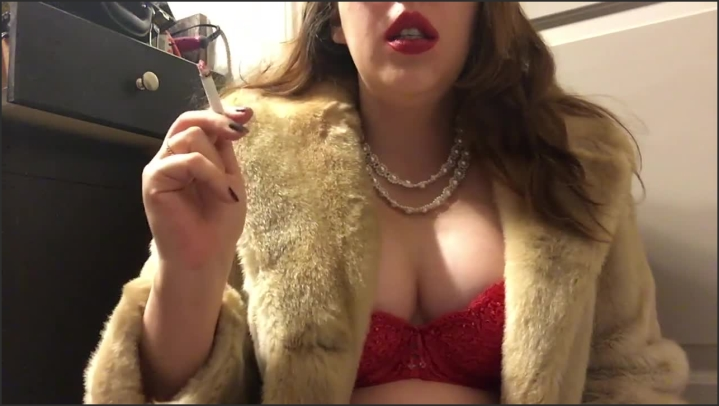 [HD] Teen Smoking Goddess With Big Perky Natural Tits Wearing A Fur Coat - Goddess D - - 00:06:00 | Amateur, Verified Amateurs - 71,2 MB