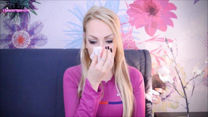 Goddess Isabel Bratty Princess Nose Blowing