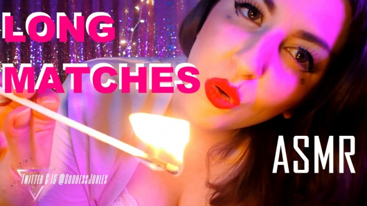 [Full HD] Goddess Joules Opia Long Matches Match Lighting Asmr - Goddess Joules Opia - ManyVids - 00:13:49 | Sensual Domination, Silk &Amp;Amp; Satin, Lace/Lingerie - 704,4 MB
