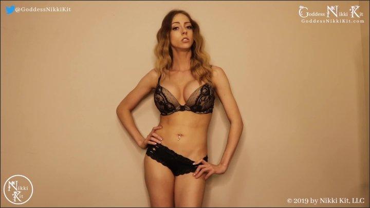 [Full HD] Sacrifice Your Pleasure For Me Femdom Goddess Nikki Kit - Goddess Nikki Kit - - 00:13:03 | Tease &Amp; Denial, Orgasm Control - 204,7 MB