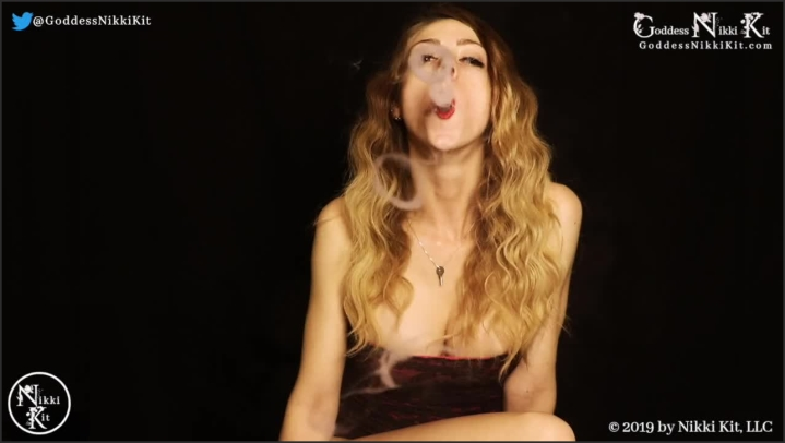 [HD] Stroke For My Vape Smoke And Red Lips Femdom Joi - Goddess Nikki Kit - - 00:13:04 | Dominatrix, Red Head, Cum Countdown - 108,4 MB
