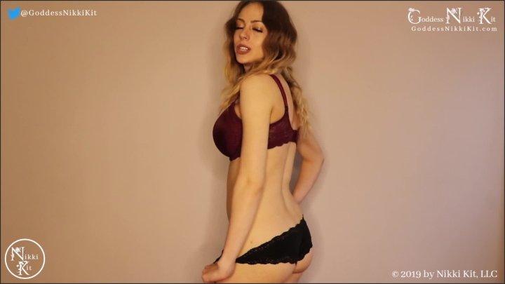 [Full HD] Stroke Your Dick And Smack Your Balls Femdom Goddess Nikki Kit - Goddess Nikki Kit - - 00:11:20 | Big Tits, Solo Female, Verified Amateurs - 185,5 MB